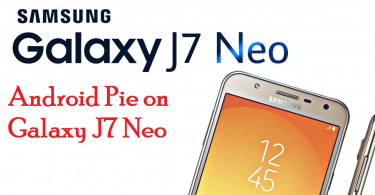 Android Pie on Galaxy J7 Neo