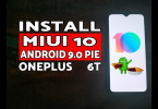 Download And Install MIUI 10 on OnePlus 6T